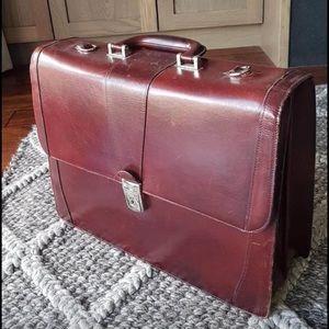 Bosca Italian Leather Briefcase